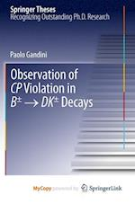 Observation of CP Violation in B± - Dk± Decays af Paolo Gandini