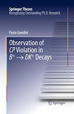 Observation of CP Violation in B  DK Decays af Paolo Gandini