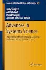Advances in Systems Science af Jerzy Swiatek