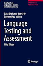 Language Testing and Assessment (Encyclopedia of Language and Education)