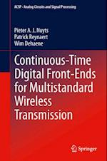 Continuous-Time Digital Front-Ends for Multistandard Wireless Transmission af Wim Dehaene