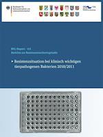 Berichte Zur Resistenzmonitoringstudie 2010/2011