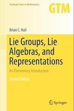 Lie Groups, Lie Algebras, and Representations af Brian C. Hall