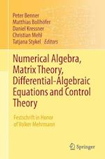 Numerical Algebra, Matrix Theory, Differential-Algebraic Equations and Control Theory af Peter Benner