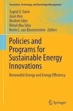 Policies and Programs for Sustainable Energy Innovations af Tugrul U. Daim