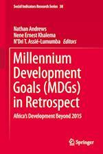 Millennium Development Goals (MDGs) in Retrospect af Nathan Andrews