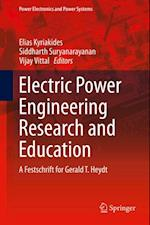 Electric Power Engineering Research and Education
