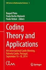 Coding Theory and Applications af Raquel Pinto