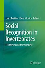 Social Recognition in Invertebrates af Laura Aquiloni