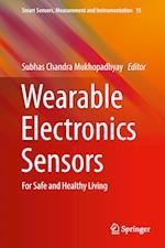Wearable Electronics Sensors af Subhas C. Mukhopadhyay