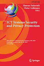 ICT Systems Security and Privacy Protection af Hannes Federrath