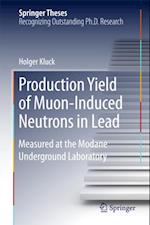 Production Yield of Muon-Induced Neutrons in Lead af Holger Kluck