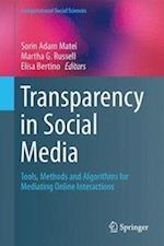 Transparency in Social Media af Sorin Adam Matei