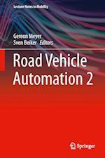 Road Vehicle Automation 2 af Gereon Meyer