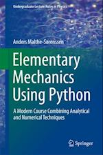 Elementary Mechanics Using Python af Anders Malthe-Sorenssen