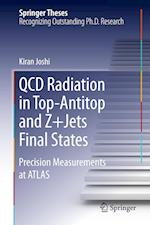 QCD Radiation in Top-Antitop and Z+Jets Final States : Precision Measurements at ATLAS af Kiran Joshi