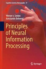 Principles of Neural Information Processing af Werner Seelen, Konstantin Behrend