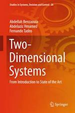 Two-Dimensional Systems af Abdellah Benzaouia