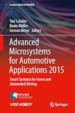 Advanced Microsystems for Automotive Applications 2015 af Gereon Meyer