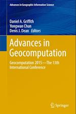 Advances in Geocomputation (Advances in Geographic Information Science)