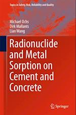 Radionuclide and Metal Sorption on Cement and Concrete af Lian Wang, Michael Ochs, Dirk Mallants