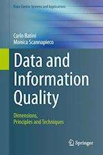 Data and Information Quality (Data-Centric Systems and Applications)