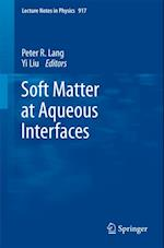 Soft Matter at Aqueous Interfaces (LECTURE NOTES IN PHYSICS)