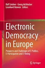 Electronic Democracy in Europe af Ralf Lindner