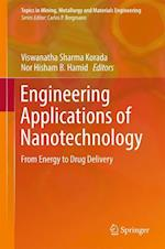Engineering Applications of Nanotechnology : From Energy to Drug Delivery