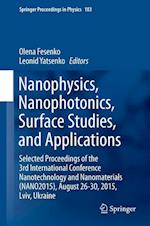 Nanophysics, Nanophotonics, Surface Studies, and Applications af Olena Fesenko