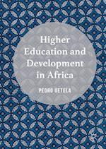Higher Education and Development in Africa