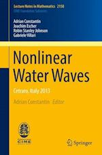 Nonlinear Water Waves : Cetraro, Italy 2013