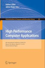 High Performance Computer Applications : 6th International Conference, ISUM 2015, Mexico City, Mexico, March 9-13, 2015, Revised Selected Papers