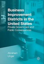 Business Improvement Districts in the United States