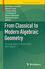 From Classical to Modern Algebraic Geometry (Trends in the History of Science)