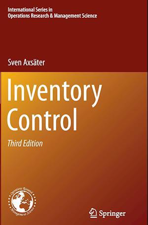 Bog, paperback Inventory Control af Sven Axsater