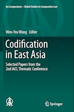 Codification in East Asia (Ius Comparatum Global Studies in Comparative Law, nr. 2)