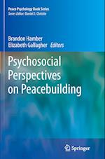 Psychosocial Perspectives on Peacebuilding (Peace Psychology Book Series)