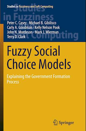 Fuzzy Social Choice Models : Explaining the Government Formation Process
