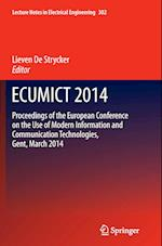 Ecumict 2014 (Lecture Notes in Electrical Engineering, nr. 302)