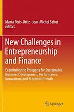 New Challenges in Entrepreneurship and Finance
