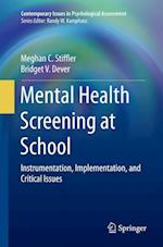 Mental Health Screening at School (Contemporary Issues in Psychological Assessment)