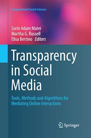 Bog, paperback Transparency in Social Media af Sorin Adam Matei