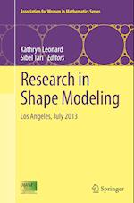 Research in Shape Modeling (Association for Women in Mathematics Series, nr. 1)