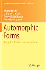 Automorphic Forms (Springer Proceedings in Mathematics and Statistics, nr. 115)