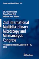 2nd International Multidisciplinary Microscopy and Microanalysis Congress (SPRINGER PROCEEDINGS IN PHYSICS, nr. 164)