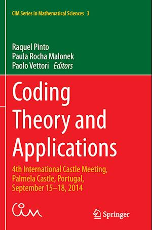 Bog, paperback Coding Theory and Applications af Raquel Pinto