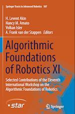 Algorithmic Foundations of Robotics (Springer Tracts in Advanced Robotics, nr. 107)
