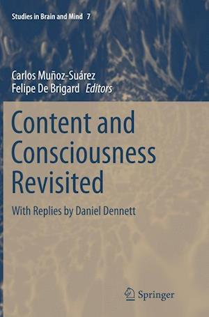 Bog, hæftet Content and Consciousness Revisited : With Replies by Daniel Dennett