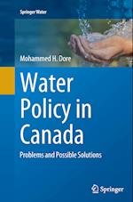 Water Policy in Canada (Springer Water)